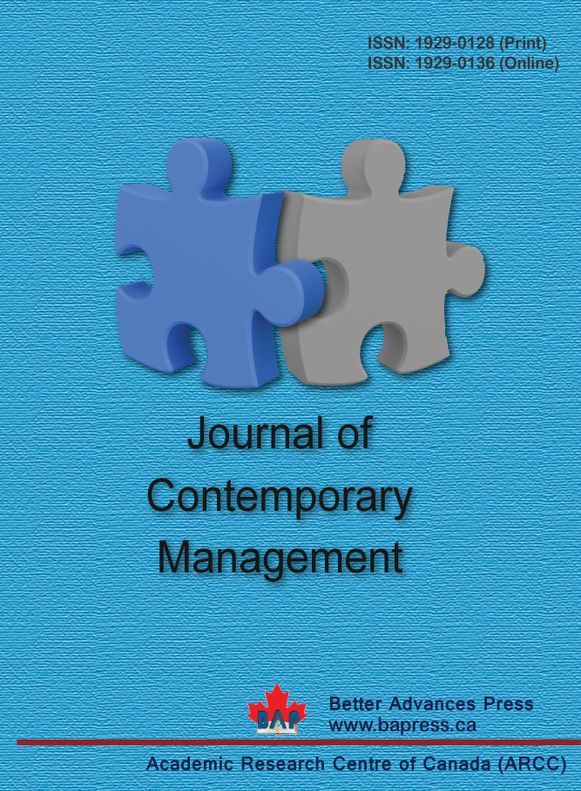 Journal of Contemporary Management