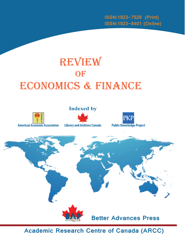 Review of Economics & Finance